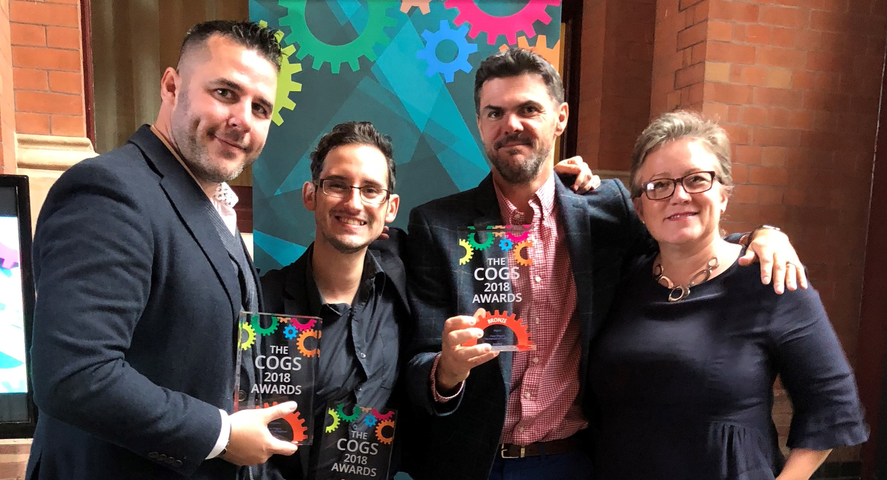 3radical wins big at IPM's COGS Awards