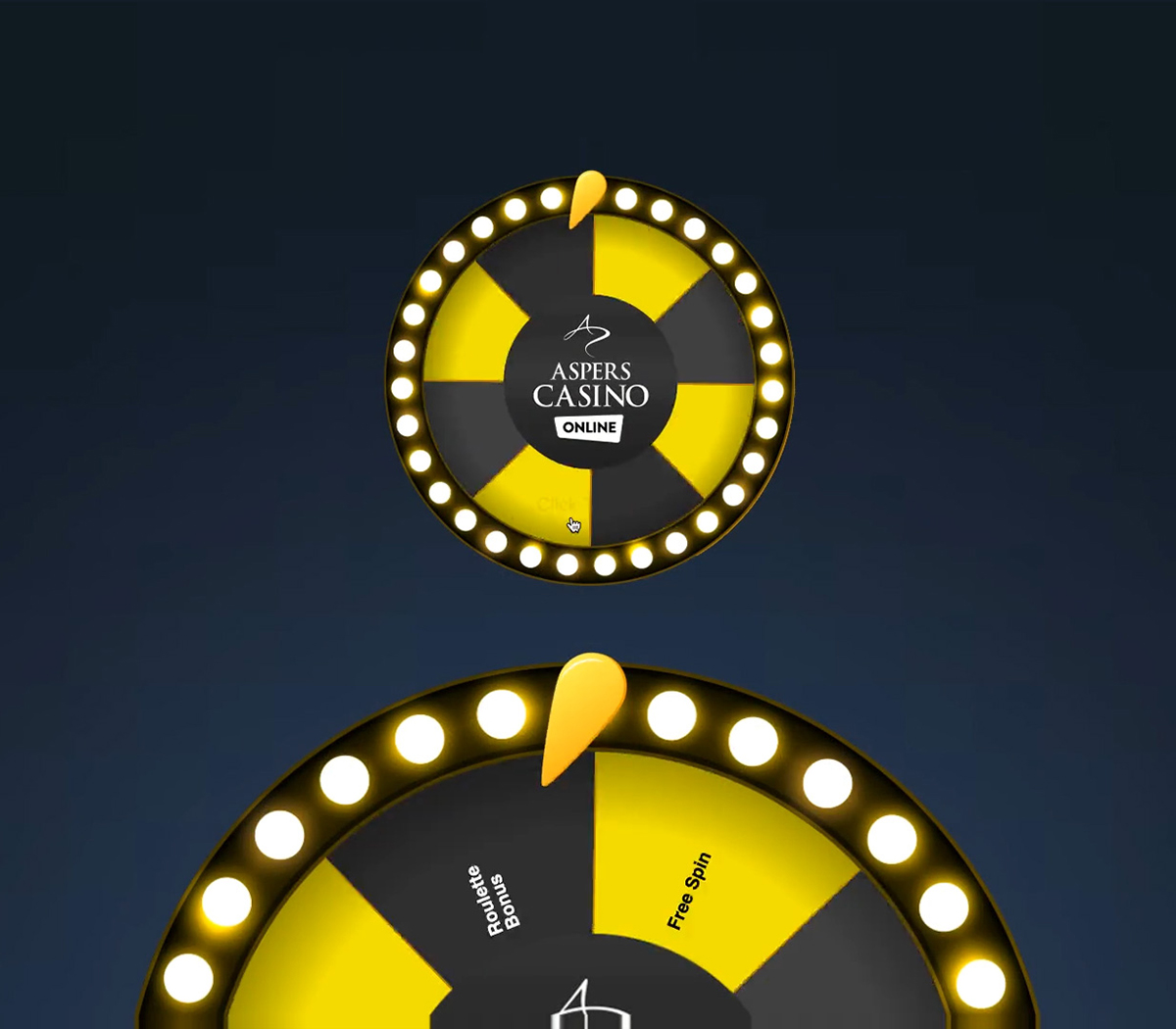 Aspers Casino Online Wheel of Fortune