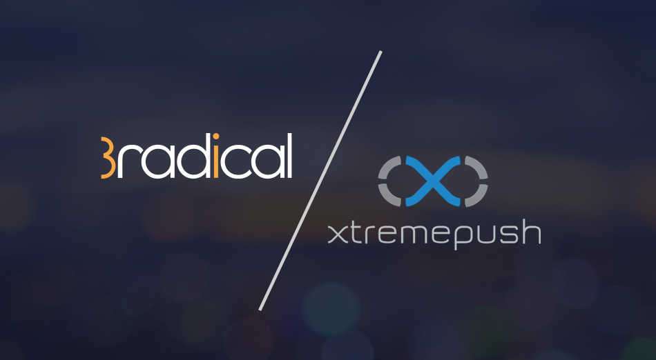 3radical and Xtremepush partner to help drive revenue through gamification and personalised engagement