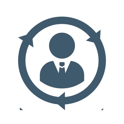 Customer Cycle Icon